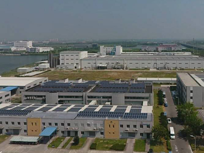 Factory roof PV station (4)